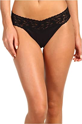 3876cf66d7e Hanky Panky Signature Lace Original Rise Thong at Zappos.com