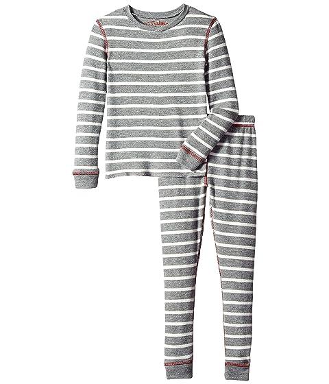 da4c88672 P.J. Salvage Kids Stripe Two-Piece Jammies Set (Toddler Little Kids ...