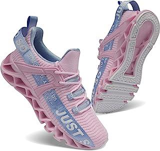 Women's Running Shoes Non Slip Athletic Tennis Walking Blade Type Sneakers