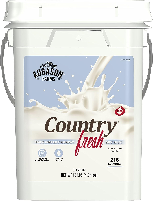 Augason Farms Country Fresh100% Real Nonfat Milk