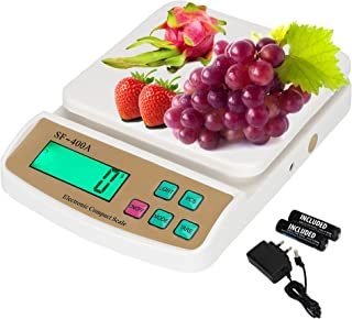 ENEM Electronic Weight Machine for Kitchen with 6 Months Warranty | Food Weight Scale Upto 10 KG for Home, Kitchen, Shop |...
