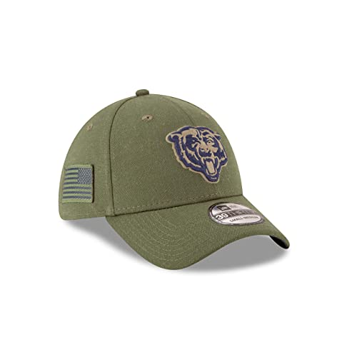 fd0431989 New Era Mens NFL 2018 Salute to Service 39Thirty Flex Fit Hat
