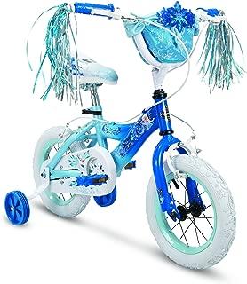 Huffy Bicycle Company Kids Bike for Girls, Disney Frozen, Elsa, Deep Blue, 12 inch