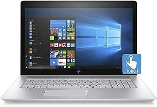HP Envy 17-Inch FHD Touchscreen Laptop, 8th Gen Intel Core i7-8550U, NVIDIA GeForce MX150 (4 GB), 12 GB RAM, 1 TB Hard Drive & 128 GB SSD, Windows 10 Home with DVD Drive (17-ae120nr, Natural Silver)