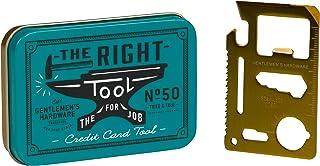 Gentleman's Hardware 10-in-1 Stainless Steel Credit Card Pocket Multi Tool