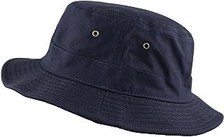 THE HAT DEPOT 100% Cotton Canvas Packable Summer Travel Bucket Hat 9a9c499ad2da