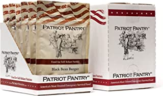 Patriot Pantry Black Bean Burger Mix Case Pack