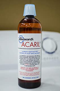 Allersearch ACARIL Laundry Additive 34 Oz (1 Liter)
