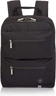 Wenger Luggage CityMove Triple Protected Padded Laptop Backpack with RFID, Black, 14-inch