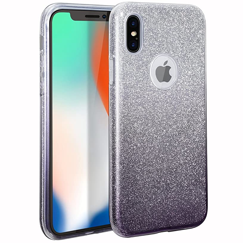 MILPROX Glitter case for iPhone Xs iPhone X 5.8