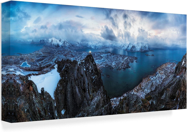 Trademark Fine Art 1X06552C1019GG Fine Art, 10x19, Multicolor