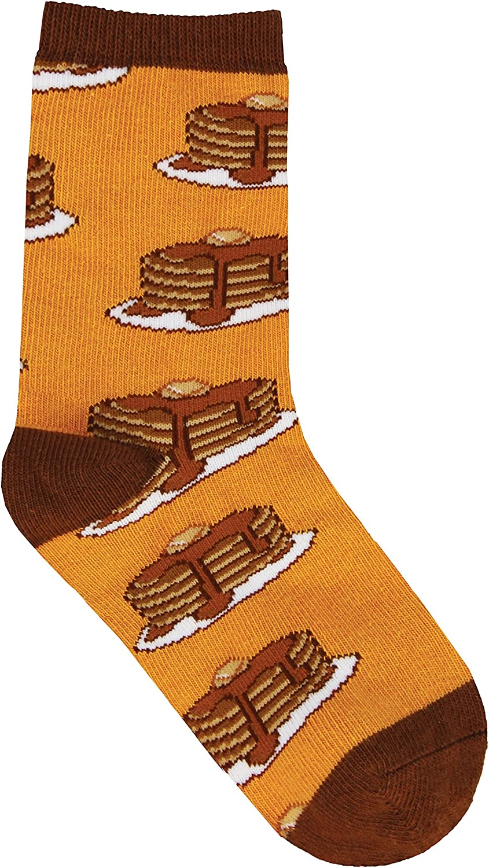 Socksmith Kids Novelty Socks Tiger Pancakes
