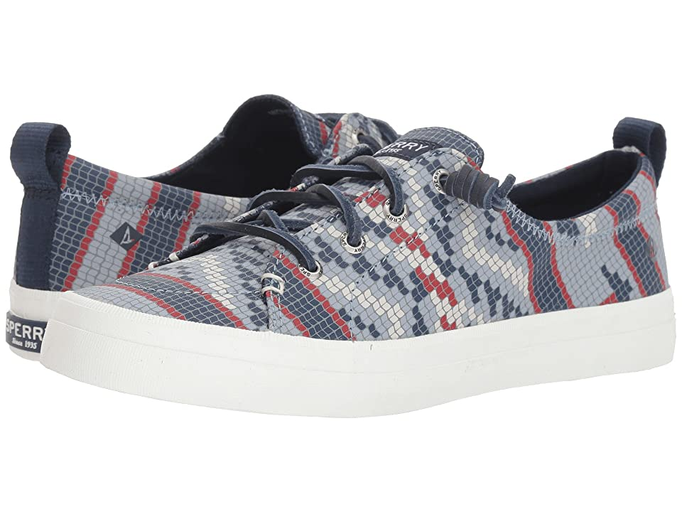 Sperry Crest Vibe Prints (Navy Fair Isle) Women