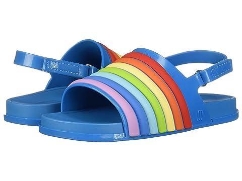 Mini Melissa Mini Beach Slide Sandal Rainbow Toddler