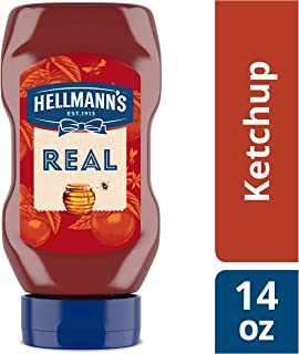 Hellmann's Real Ketchup, Sweetened Only with Honey, 14 oz