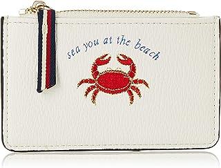 Accessorize London Women's Cosmetic Bag (White)