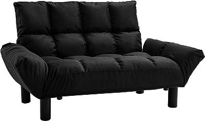 Amazon.com: Divano Roma Furniture Modern 2 Tone Small Space ...