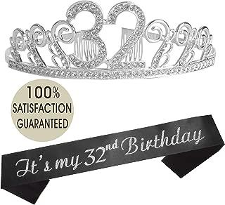 32 birthday
