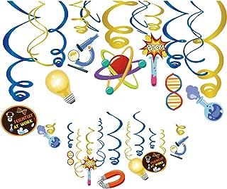Kristin Paradise 30Ct Scientist Hanging Swirl Decorations