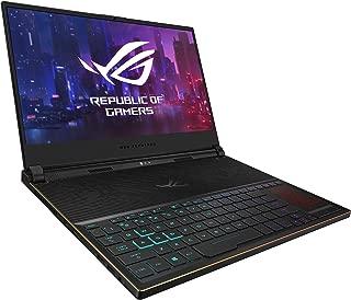 ASUS 华硕 ROG Zephyrus S超薄游戏笔记本电脑,15.6英寸144Hz IPS型FHD,GeForce RTX 2070,英特尔酷睿i7-8750H,16GB DDR4,512GB PCIe NVMe SSD,Aura Sync RGB,Windows 10 64位,GX531GW-AS76 0.62英寸薄