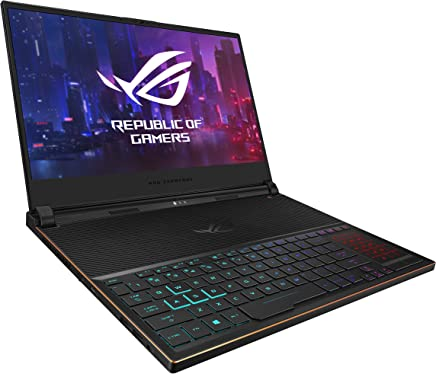 "ASUS ROG Zephyrus S Ultra Slim Gaming Laptop, 15.6"" 144Hz IPS Type FHD,"