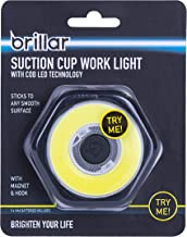 Brillar BR0037-BLACK BR0037-BLACK Suction Cup Work Light with COB LED Technology Handheld Mounting Integrated Magnet Hangi...
