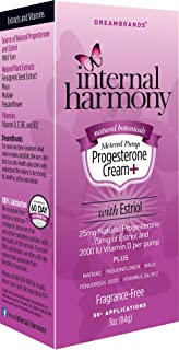 Sponsored Ad - Internal Harmony Natural Progesterone Cream + with Estriol with Vitamin E, B6, B12, and 2000IU Vitamin D