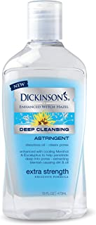 Dickinson's Enhanced Witch Hazel Extra Strength Deep Cleansing Astringent, 16 Fluid Ounce