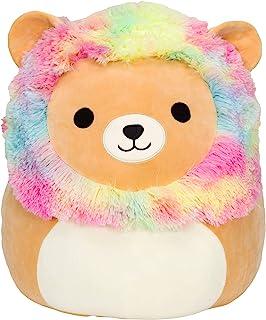 "Squishmallows Official Kellytoy Plush 8"" Rainbow Mane Lion - Ultrasoft Stuffed Animal Plush Toy"