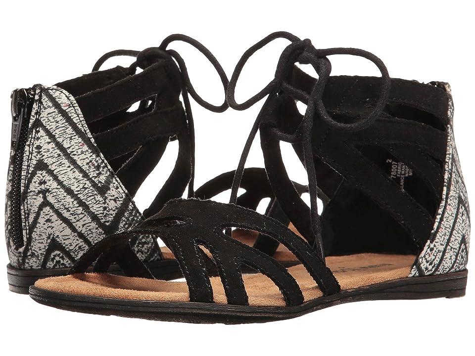 Minnetonka Kids Meri Sandal (Toddler/Little Kid/Big Kid) (Black) Girls Shoes