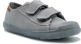 Zapatillas de Lona ecológica para niña y niño/Bambas Infantiles con aromaterapia antimosquitos/Calzado Infantil con Cierre...
