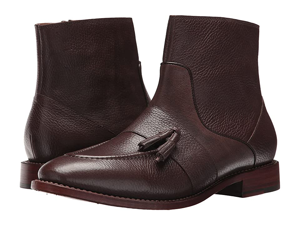 Michael Bastian Gray Label Sidney Tassel Zip Boot (Van Dyck Brown) Men's Boots