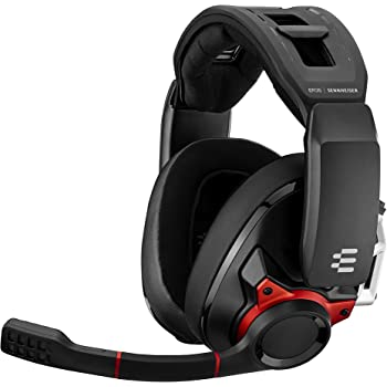 EPOS I Sennheiser GSP 600 – Wired Closed Acoustic Gaming Headset, Noise-Cancelling Microphone, Adjustable Headband with Customizable Contact Pressure, Volume Control, for PC + Mac + Xbox + PS4, Pro