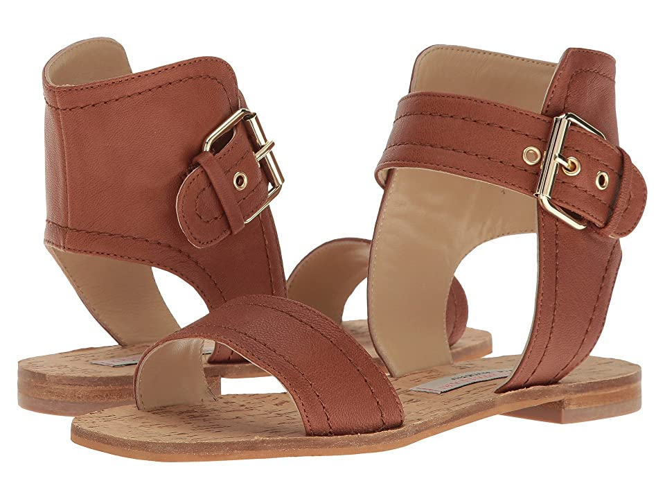 Kristin Cavallari Tasteful Leather Sandal (Whiskey) Women