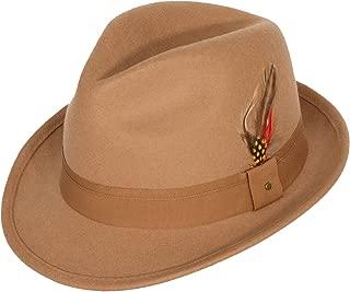 Men's 100% Wool 'Verve' Trilby Fedora Hat (6+ Colors)