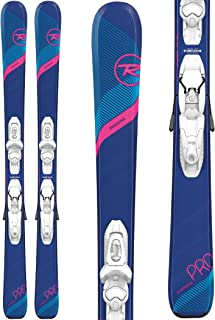 Rossignol Experience Pro/Kid-X 4 Ski Package Girl's