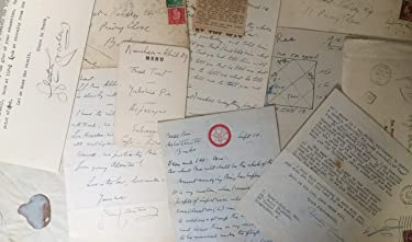 Aleister Crowley : SIGNED Letters, Diaries, Documents, Manuscripts, Typescripts, Calling Cards, Horoscopes, etc. - Various Items Owned By, or Passed Through the Hands of The Beast 666.