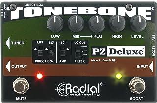 Tonebone pz-deluxe Conmutador Efectos para Guitarra, color negro