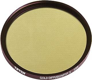 Tiffen Series 9 Gold Diffusion FX 5 Round Glass Filter