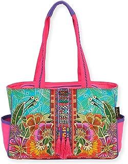 Laurel Burch Flora Medium Tote Handbag 5822