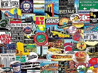 White Mountain Puzzles New York New York! - 1000 Piece Jigsaw Puzzle