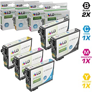 LD Remanufactured Ink Cartridge Replacement for Epson 200 200XL High Yield (2 Black, 1 Cyan, 1 Magenta, 1 Yellow, 5-Pack)