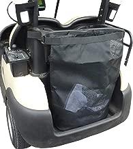 Formosa Covers EZGo, Club Car, Yamaha, Easy Attach Golf Cart Grocery Shopping and Utility Mesh Bag