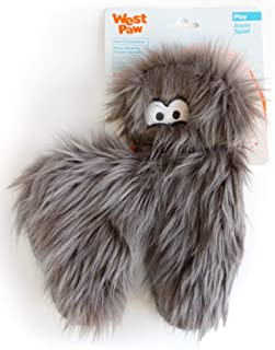 West Paw Hamilton, Rowdies with HardyTex and Zogoflex, Plush Dog Toy, Pewter Fur
