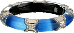 Alexis Bittar Pavé Edged Segmented Hinge Bracelet