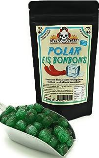 Polar Eis Bonbons - zuckerfrei - 200g - Hotskala: 8 - RED DEVILS TASTE