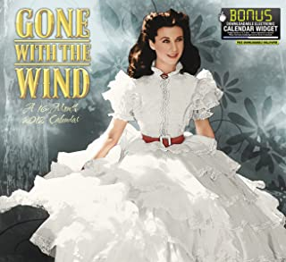 2012 Gone with the Wind Wall Calendar