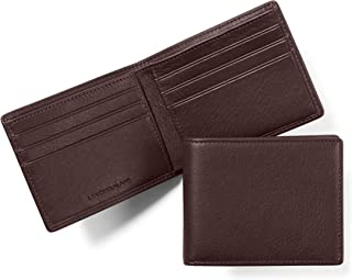 Leatherology Men's Thin Bifold Wallet - RFID Available