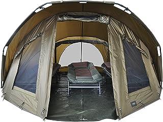 Gastatune MK-Angelsport Fort Knox 3-4 Personen kupol Innenhöhe: 1,8 m Zelt Karpfenzelt wasserfest und temperaturstabiles A...