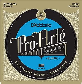 D'Addario EJ46C Pro-Arte Composite Classical Guitar Strings, Hard Tension